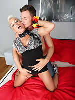 Kinky German housewife fucking her ass off