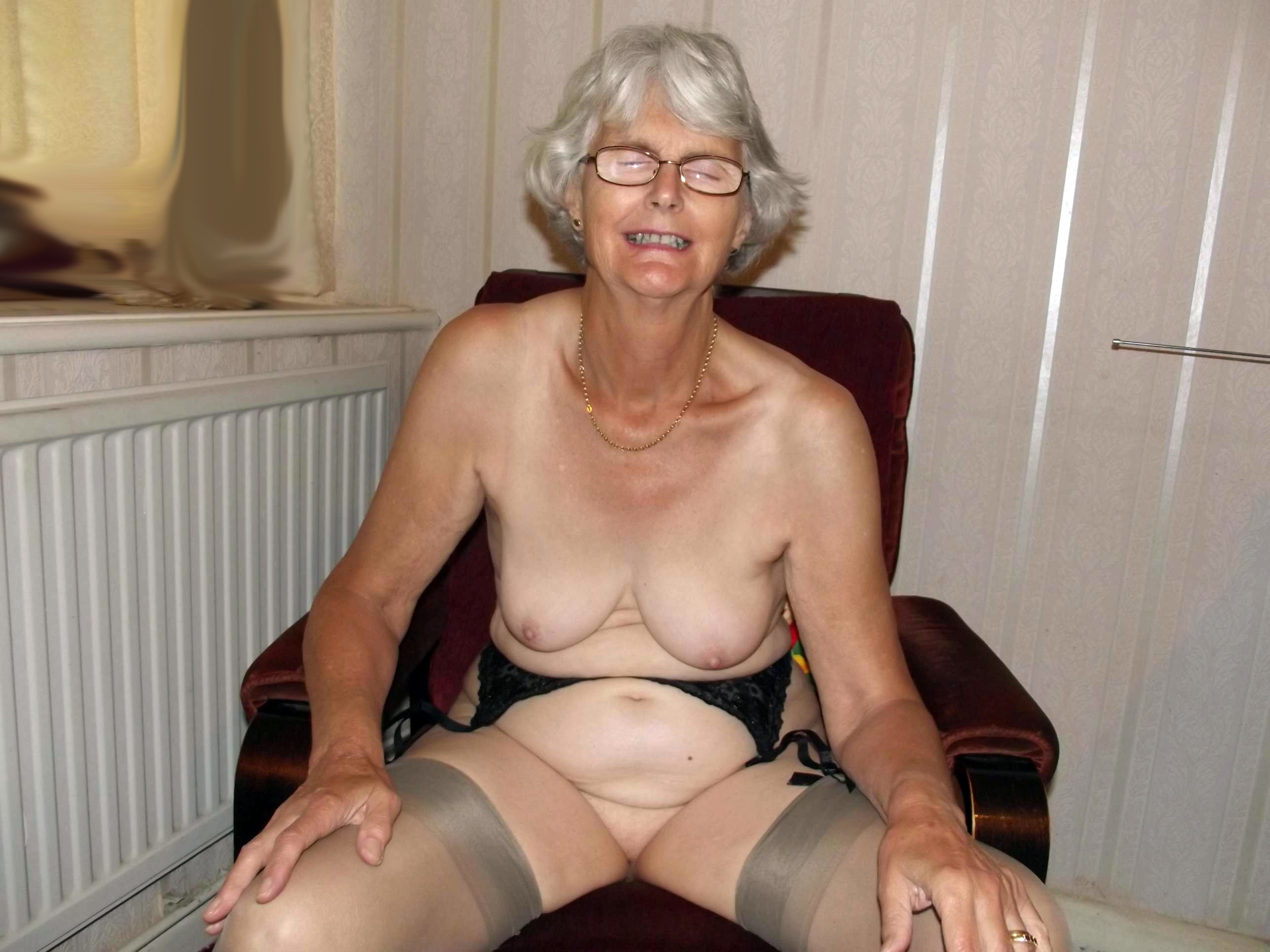 Not Grandfather and grandmom fucking nude